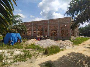Goro bersama masyarakat jalan baru rt 24 rw 06 Dusun 4 Petapahan.