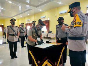 Polres Kampar Laksanakan Serah Terima Jabatan,Hari ini 2 Kasat 3 Kapolsek  Jajaran, Semoga Amanah