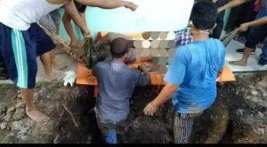 Ditemukan Mayat Wanita Didalam Septic Tank Rumah, Dijalan Brayan Garuda Sakti