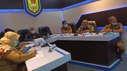 Bupati Asahan Ikuti Zoom Meeting Dengan Gubernur dan Kepala Daerah se-Sumatera Utara